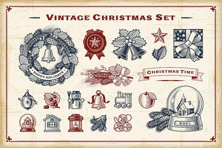 Thumbnail for Vintage Christmas Set