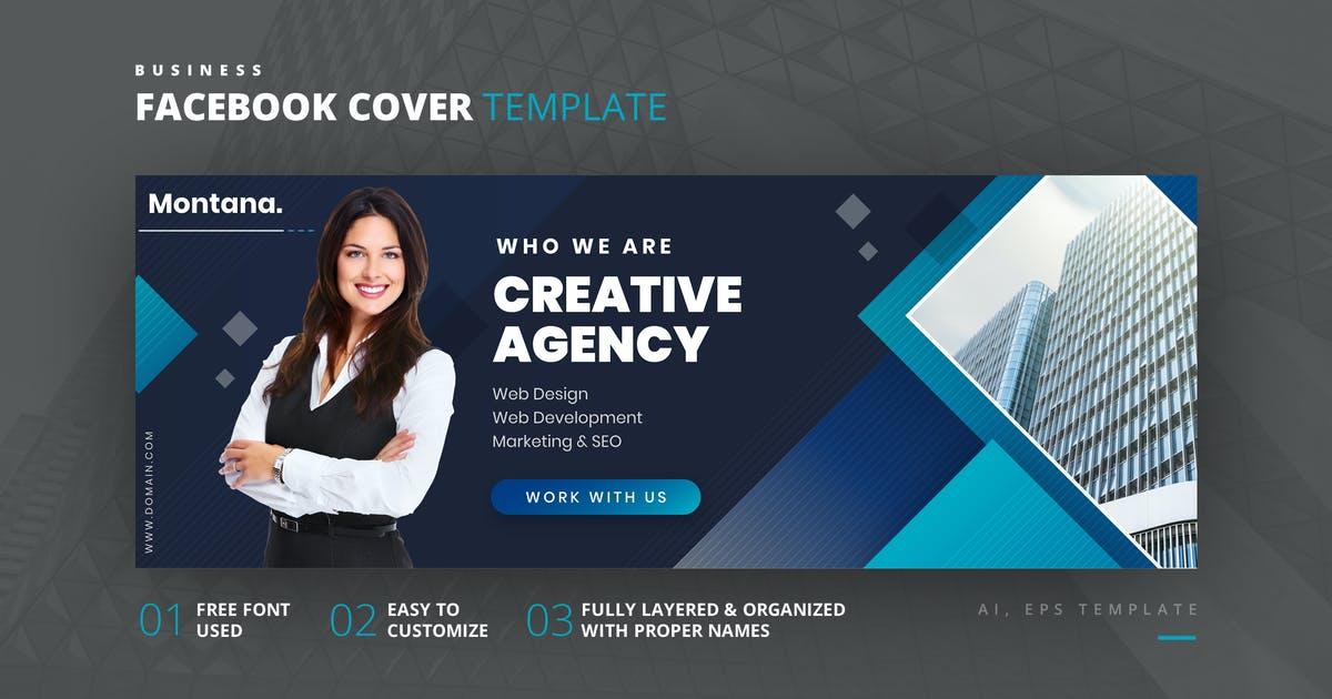 Download Business Facebook Cover Template by Last40