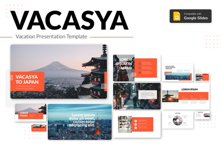 Thumbnail for VACASYA - Vacation Presentation Template