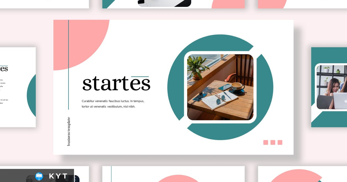 Download STARTES - Business Keynote Template by inipagi