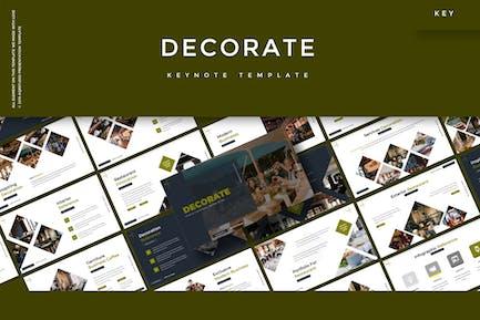 Decorate - Keynote Template
