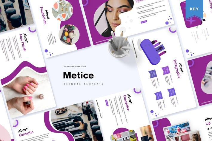 Thumbnail for Metice | Keynote Template