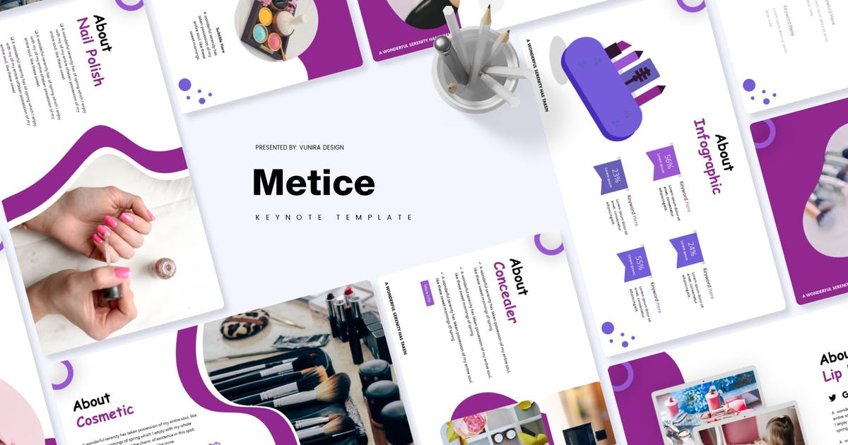 Download Metice | Keynote Template by Vunira