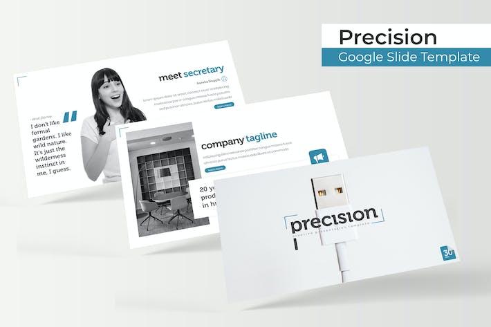 Thumbnail for Precision - Plantilla de Presentación de Google