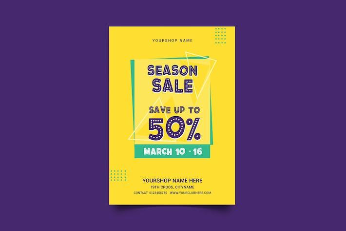 Season Sale Flyer