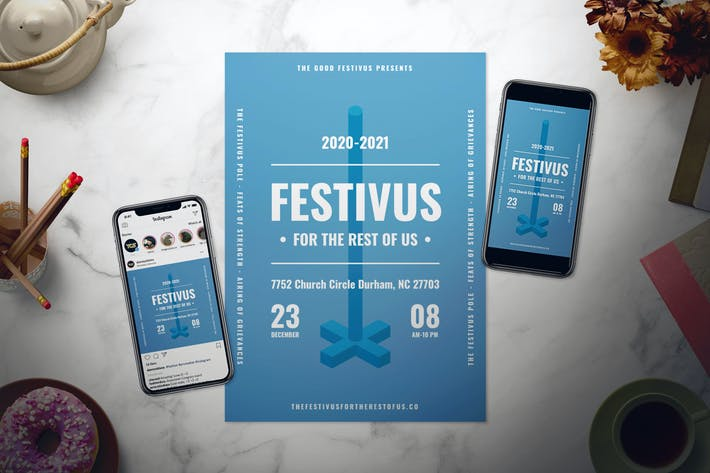 Thumbnail for Festivus Flyer Set