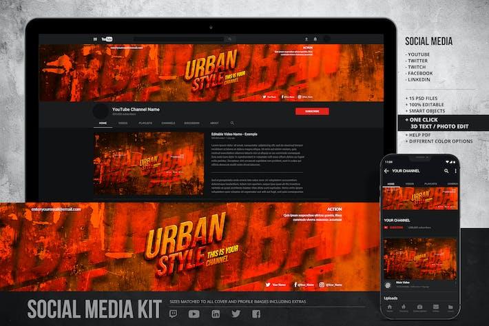 Thumbnail for Social Media Profiles - Art Kit