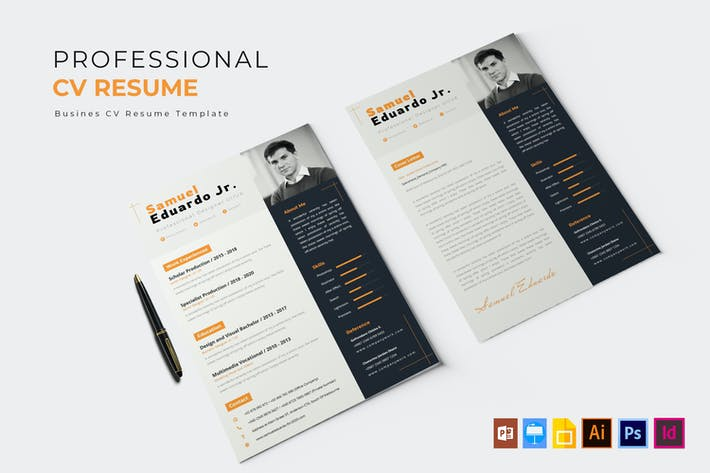 Thumbnail for Professional Job | CV & Resume