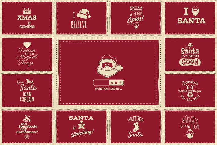 Thumbnail for Weihnachts-Hintergrundkarten & Poster
