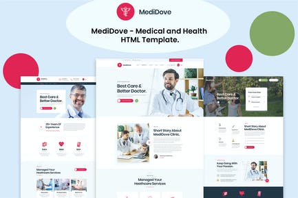 MediDove - Medical and Health HTML5 Template
