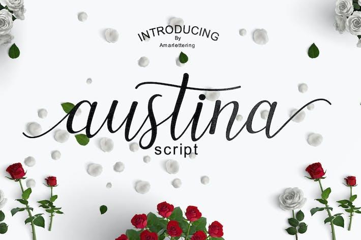 Thumbnail for Austina Script