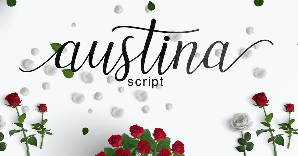 Download Austina Script by amarlettering