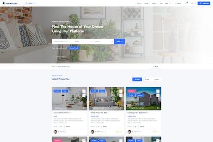 HomeRadar - Real Estate & Listing WordPress Theme