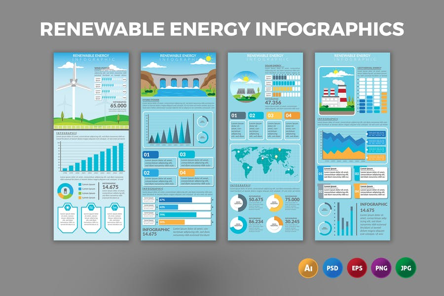 Renewable Energy – Infographics Design
