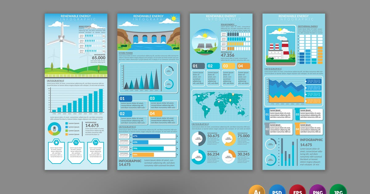 Download Renewable Energy – Infographics Design by designesto