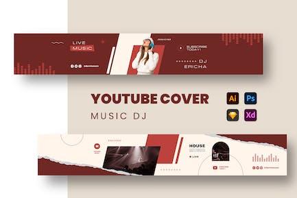 Music DJ Youtube Cover
