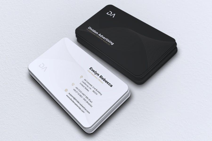 Minimalist Business Card Vol. 40