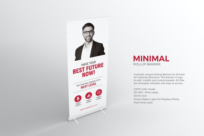 Thumbnail for Minimal Roll-up Banner