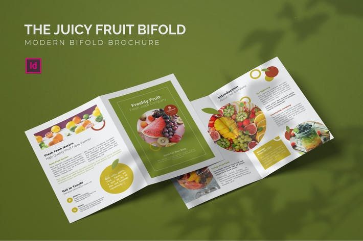 Thumbnail for Juicy Fruit - Brochure bifold