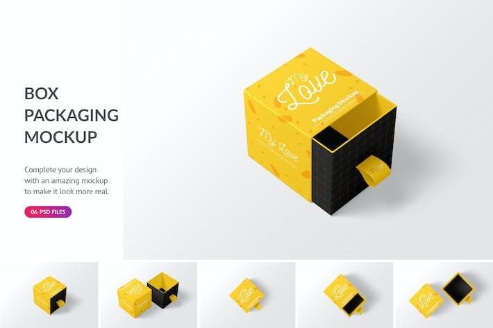 Thumbnail for Box Packaging Mockup