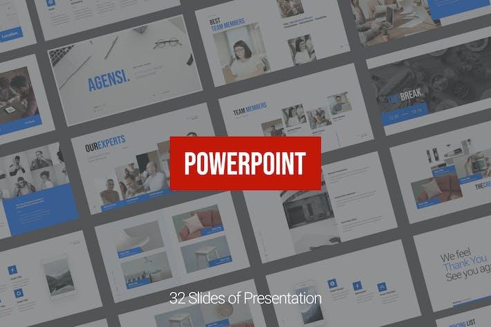 Thumbnail for Презентация агентства Powerpoint