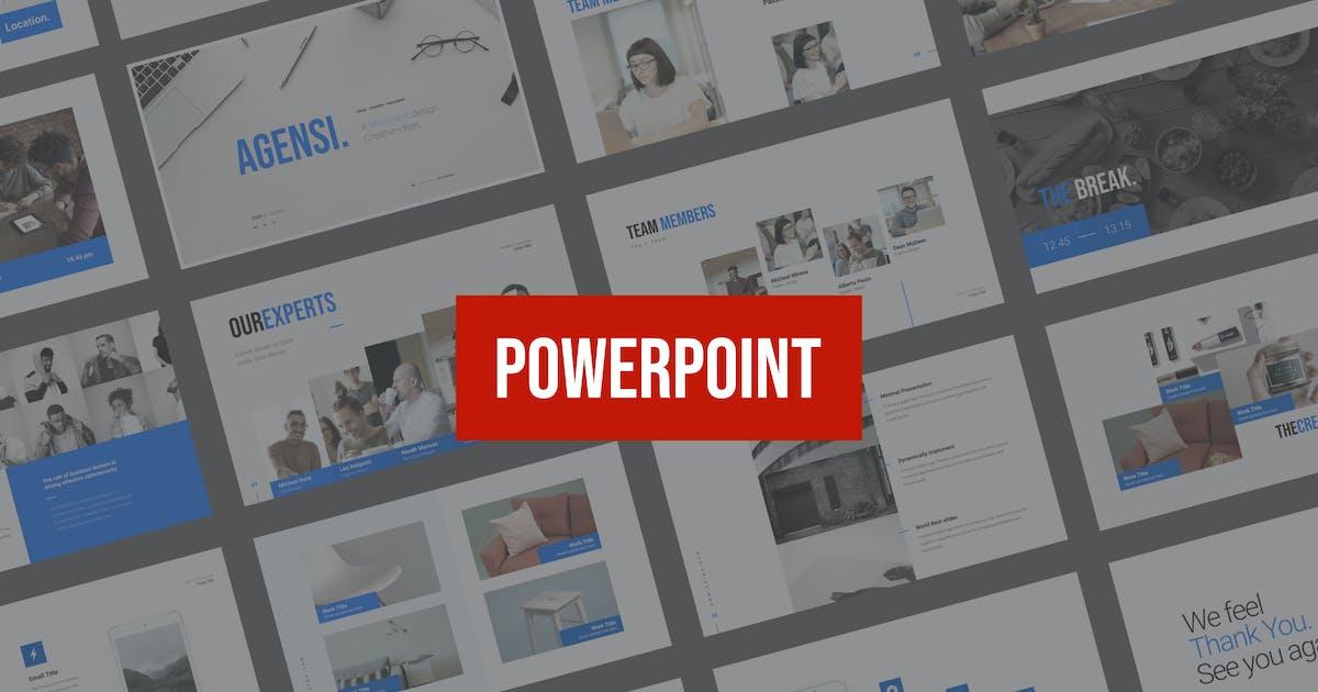 Download Agensi Presentation Powerpoint by celciusdesigns