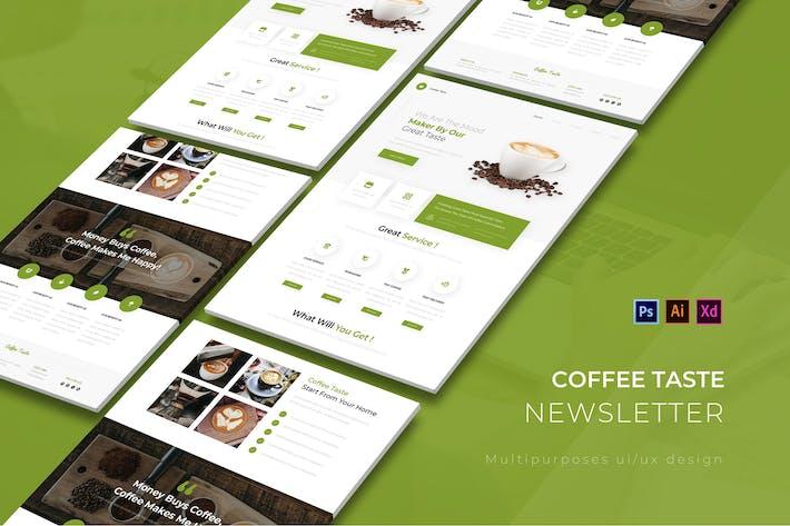 Thumbnail for Newsletter du goût du café