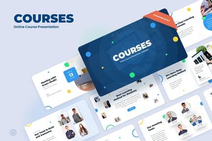 Courses - Education Power Point Presentation