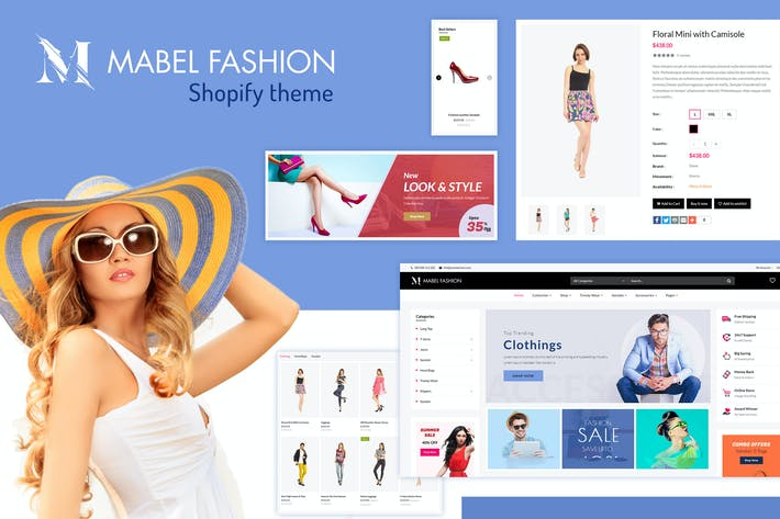 Thumbnail for Mabel | Thème Shopify Mode