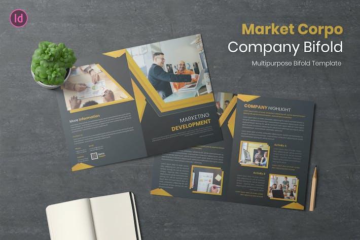 Thumbnail for Market Corpo Brochure bifold