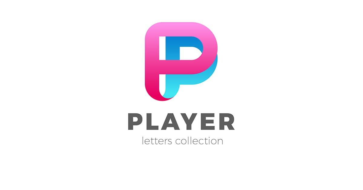 Download Letter P Logo design 3D Ribbon style by Sentavio