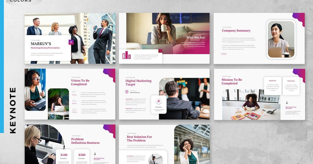 Download Startup Digital Marketing Strategy Keynote Slide by ukraine_studio