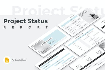 Project Status Report Google Slides