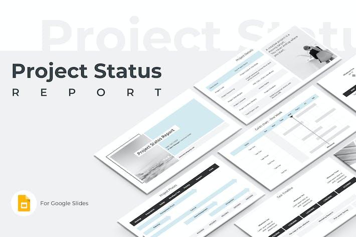 Thumbnail for Отчет о состоянии проекта Google Слайды