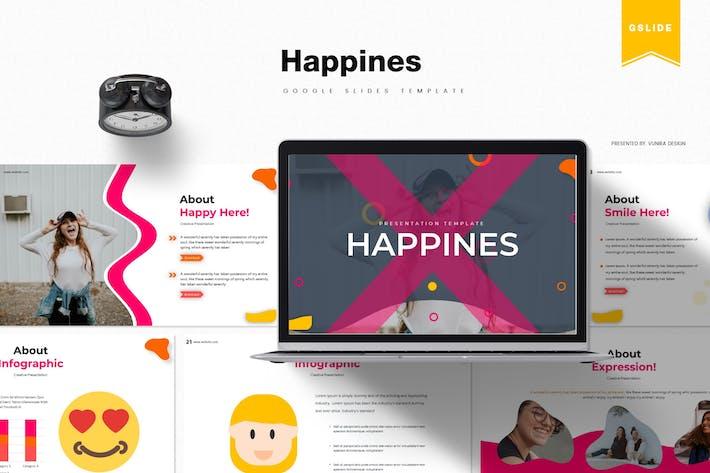 Thumbnail for Счастья | Шаблон слайдов Google