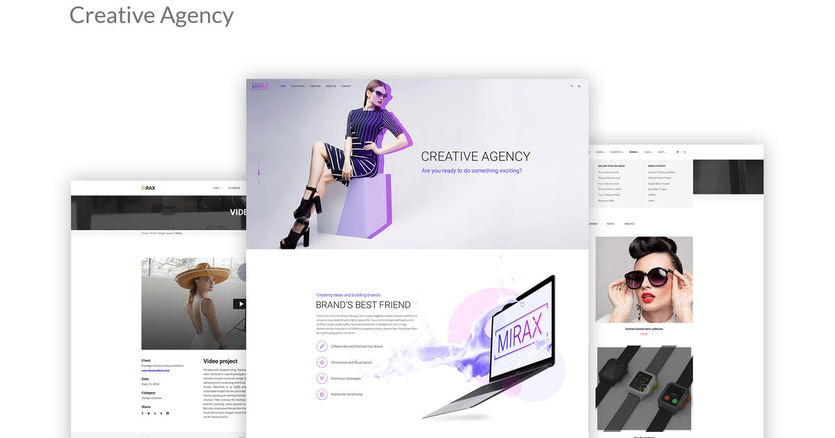 Download Mirax - Creative Agency PSD Template by Unknow