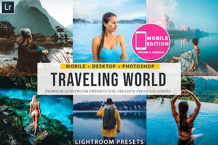 Traveling lightroom presets