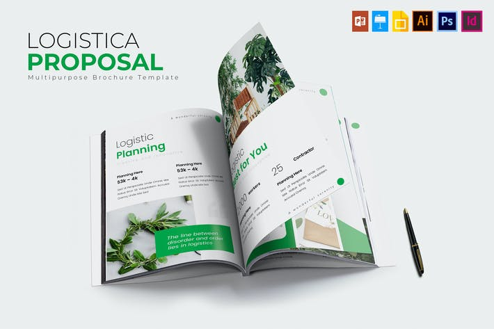 Thumbnail for Logistica | Proposal Template