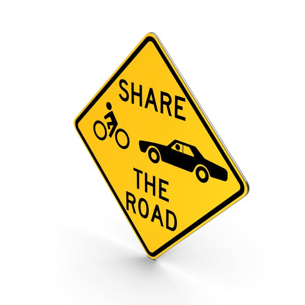 Thumbnail for Share The Road Pennsylvania Road Sign