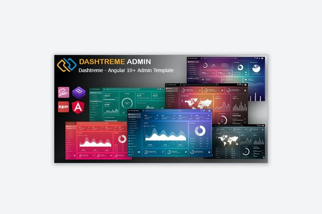 Dashtreme - Angular 10+ Admin Template