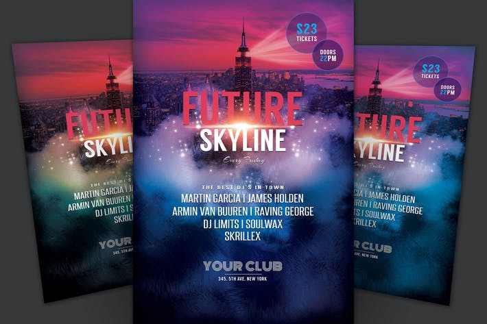 Thumbnail for Future Skyline Flyer