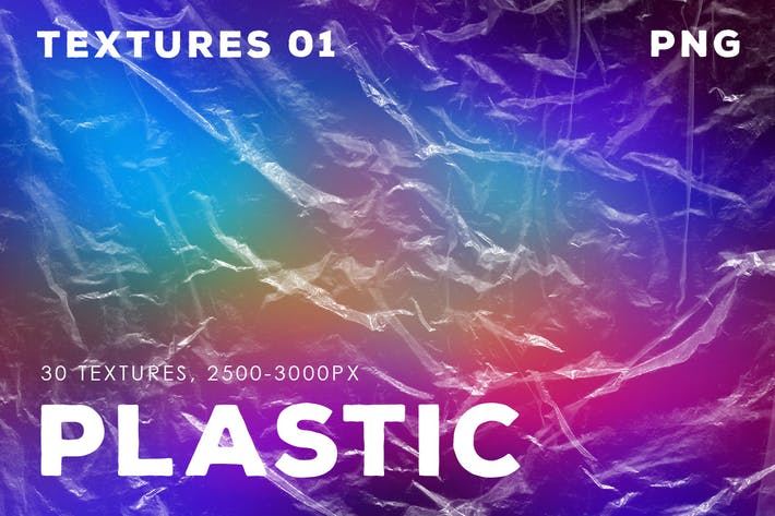 Thumbnail for 30 Isolated Plastic Textures | 01