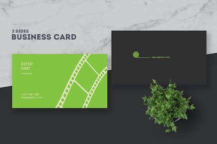 Movie Creator Business Card