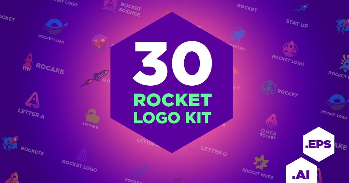 Download 30 Rocket Logo Kit by Suhandi