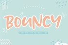 Bouncy YH - Display Font
