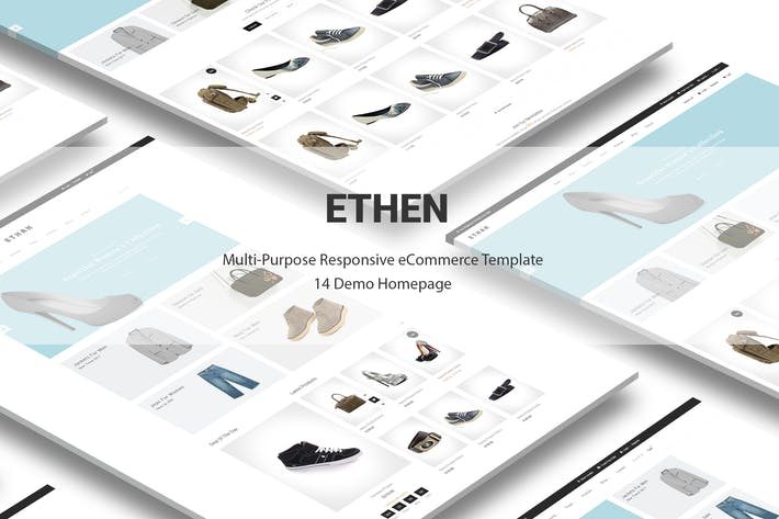 Thumbnail for Ethan Responsive Prestashop 1.6, 1.7 Theme