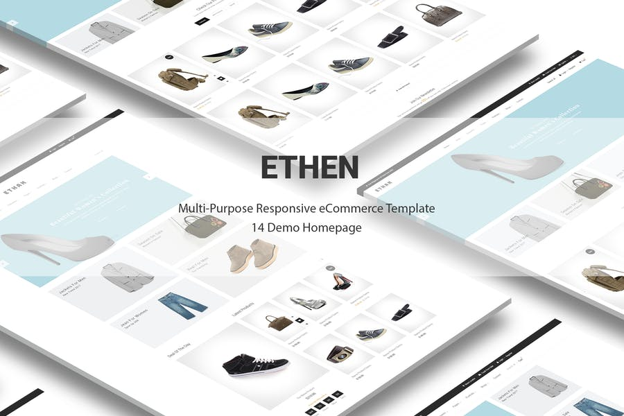 Ethan Responsive Prestashop 1.6, 1.7 Theme