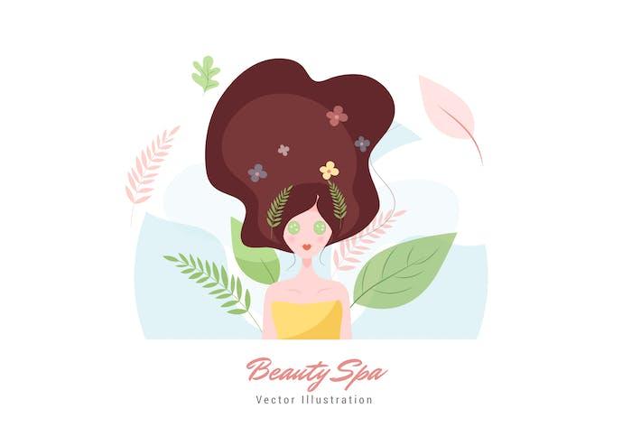 Thumbnail for Beauty Spa Vektor Illustration