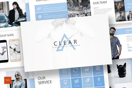 Clear - Powerpoint Template