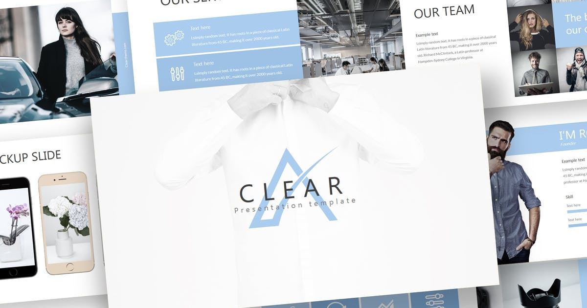 Download Clear - Powerpoint Template by inspirasign